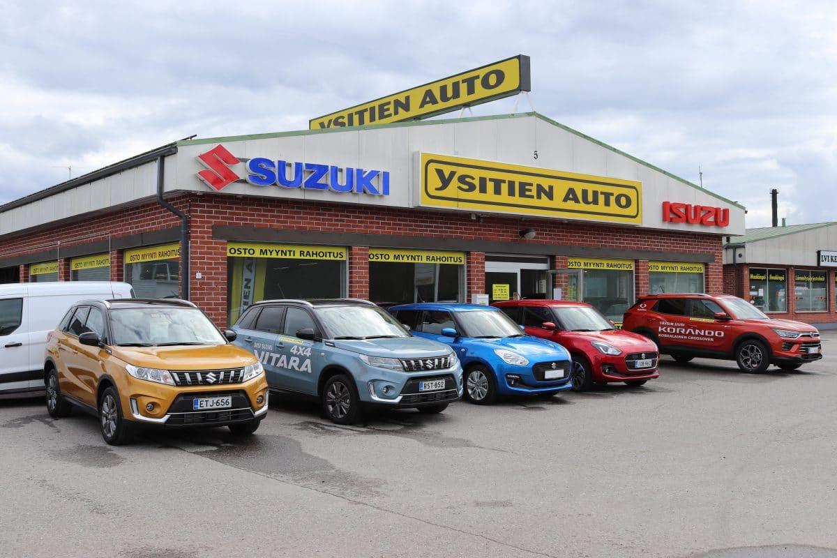 Suzuki vaihtoauto vaihtoautot vitara neliveto