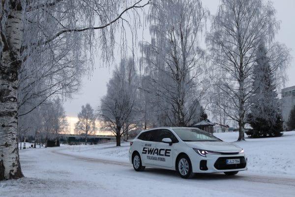 Suzuki Swacen huima talvirengaskampanja