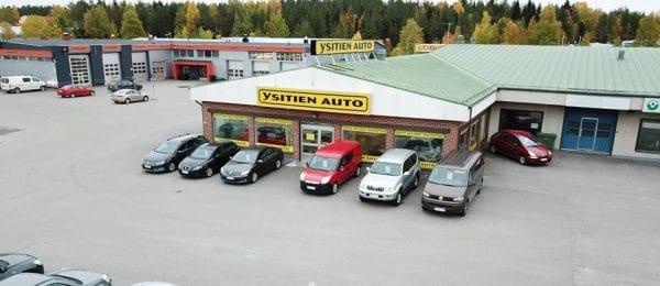 Uusien autojen myynnin aloittaminen siirtyy Rovaniemellä